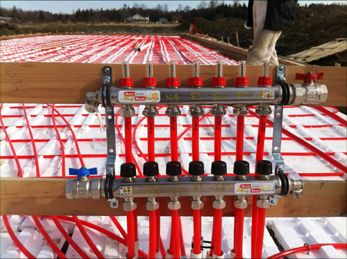 Building Biodome Thermal Insulation Floor Heating 2