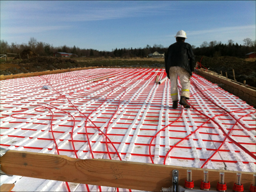 Building Biodome Thermal Insulation Floor Heating 3