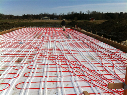 Building Biodome Thermal Insulation Floor Heating 4